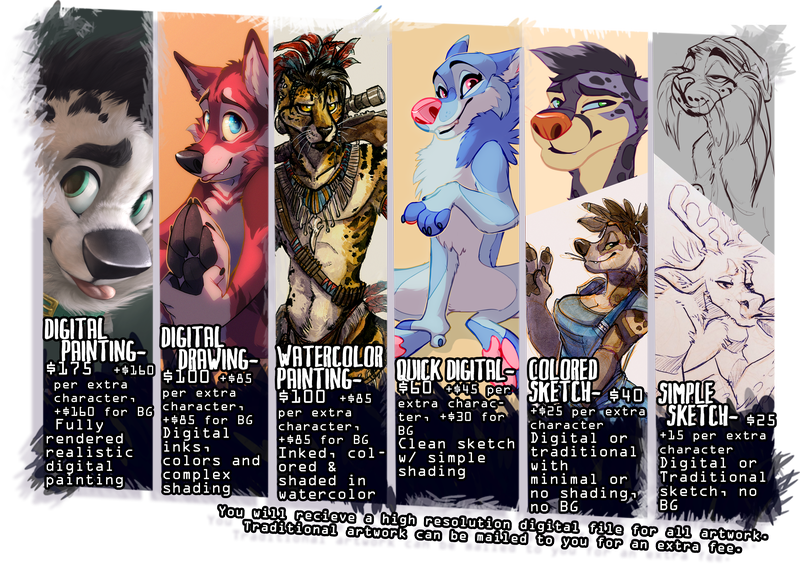 Art Commission Prices